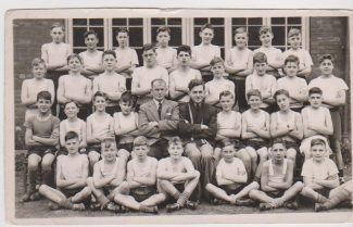 Tilbury v Thurnscoe 1950 | In this Picture is E Twigg, D Ferry,J Coote,B Twigg, P Ford, J Kersopp, G Sach, ? Tibble, CBoug, B Dobbs, R Kendric, T Stephenson.