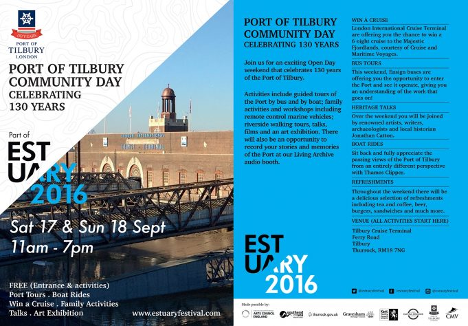 Free event at Tilbury Cruise Terminal