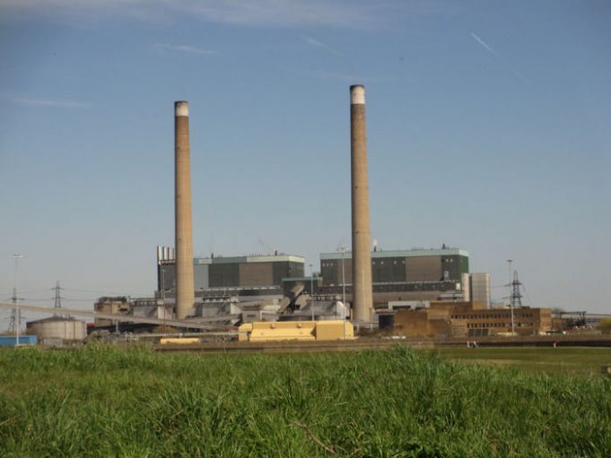 Tilbury B power station with part of Tilbury A | from John Smith