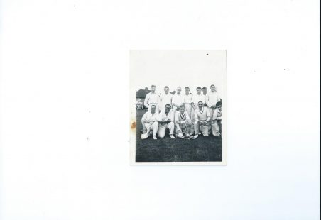 Tilbury Cricket Club 1950s?