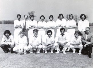 Tilbury CC 1973 after winning the Thurrock KO Competition against South Ockendon | Don Carter