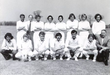 Tilbury Cricket Club 1973