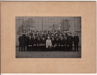 Tilbury Dock Auxiliary Fire Service Crew