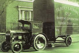 Tilbury Laundry Tractor Van 1930's | Thurrock Museum