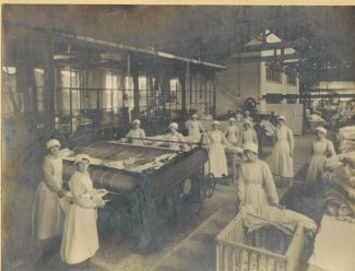 The Tilbury Laundry in the 1930's | Thurrock Museum