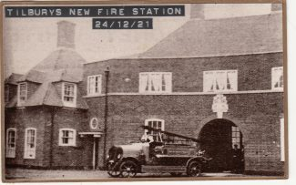 New Fire Station in Tilbury Docks