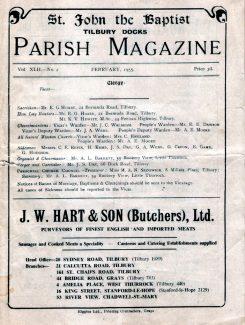1955 Parish Magazine