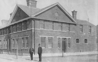 Tilbury Police Station, 1910 view
