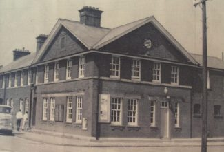 Tilbury Police Station, 1967 view