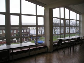 Tilbury Police Station, Inside Looking Out.