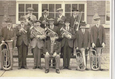 Tilbury Railwaymans Band 1919