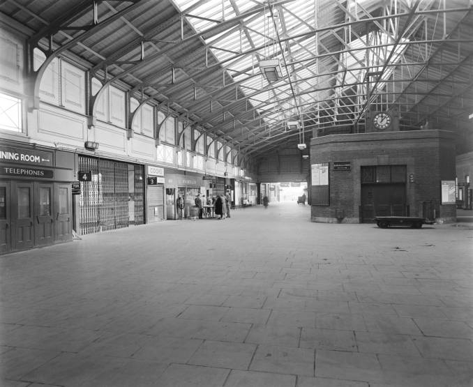 Inside the Tilbury Riverside Station (date unknown)