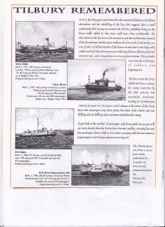 Tilbury Ferries