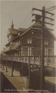 Station restaurant,Tilbury Dock. | unknown