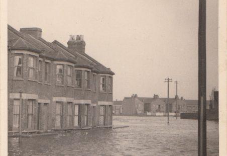 Tilbury Floods 1953