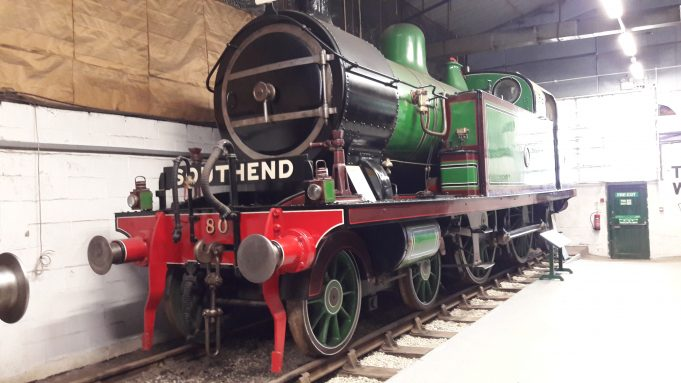 Trains from a museum