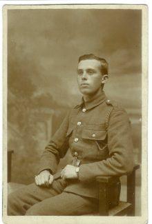 William A Cooper in uniform | Alan Trusler
