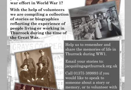 Thurrock - Memories of the Great War