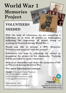 World War 1 Memories Project