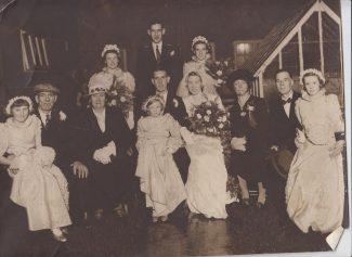 Wedding in Gainsbough Avenue