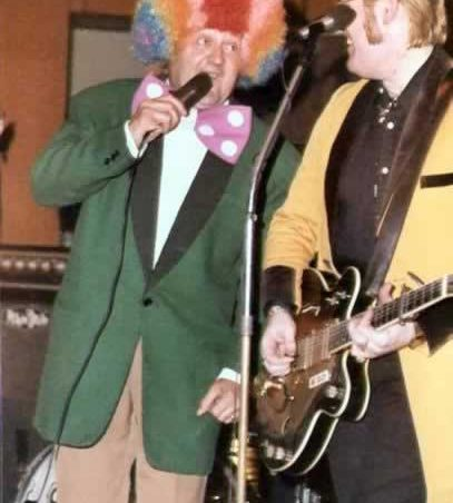 Mick Nash with Wee Willie Harris | Mick Nash and www.teddyboysreunited.co.uk