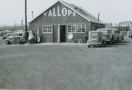 Yallop's car breaking yard
