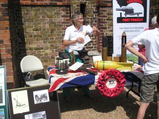 First World War display   John Smith