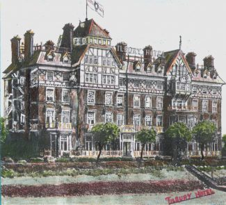 A drawing of the hotel | From John Smith