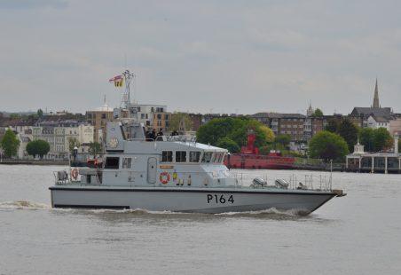 HMS EXPLORER (P164)