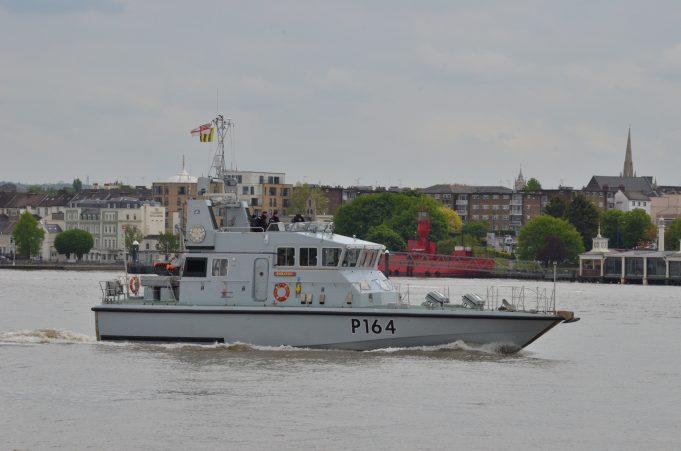 HMS EXPLORER (P164)   Jack Willis