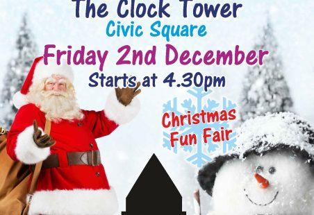 Tilbury Christmas Lights switch on
