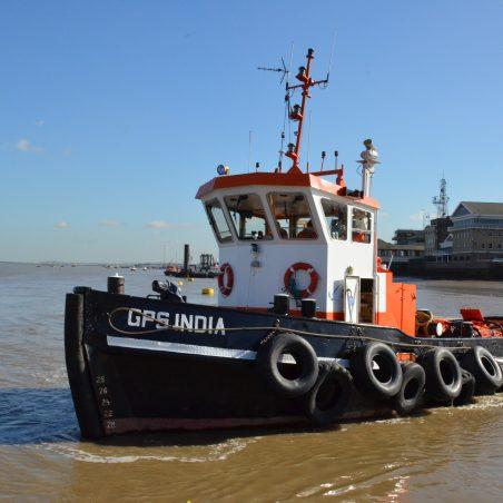 GPS INDIA leaving her berth | Jack Willis