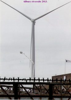 Construction of the wind turbines | from John Smith