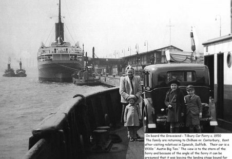 Tilbury Ferry during the Suez Crisis
