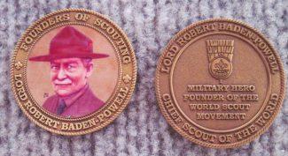 Baden-Powell medal | From John Smith