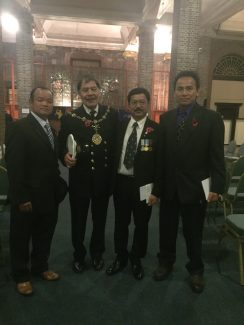 Remembrance Ceremony in Tilbury, 2015 | Hindu Tamang