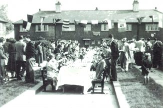 Keats Gardens coronation street party | from John Smith
