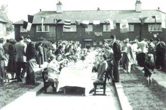 Keats Gardens coronation street party | from John Smith