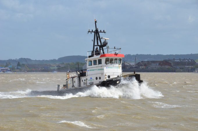 SEA CHALLENGE 11 in a choppy river 5/5/2015 | Jack Willis