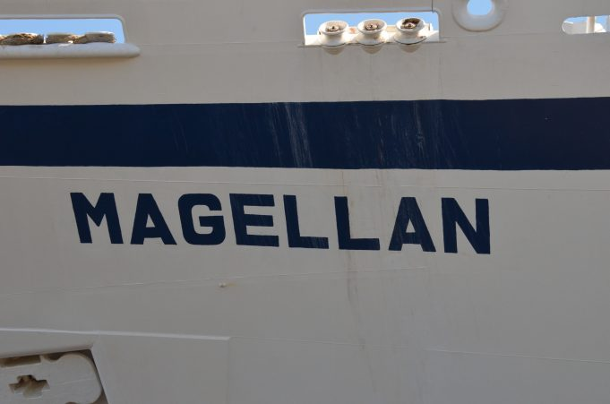MAGELLAN leaving the landing stage | Jack Willis