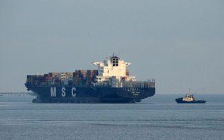 MSC RITA sailing for Hamburg | Jack Willis
