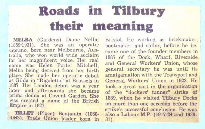Tilbury Roads | from John Smith