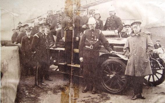 Tilbury fire brigade 1920's
