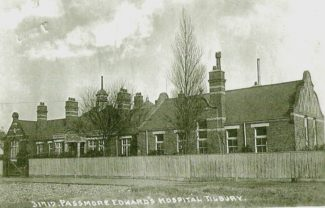 Postcard of the hospital | from John Smith