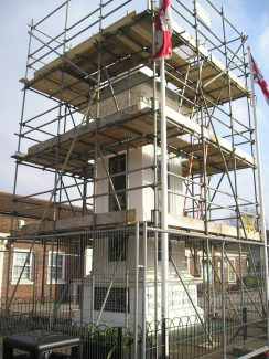 Scaffold in place | John Smith