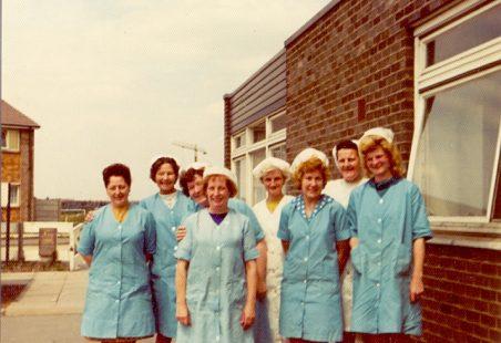 Lansdowne Kitchen staff pre c1970's