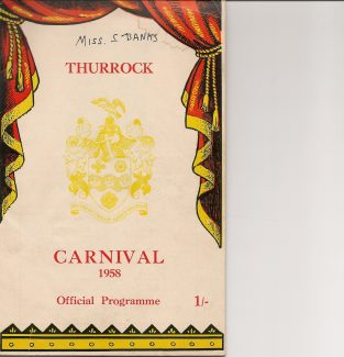 Thurrock Carnival Programme | from Barry Banks