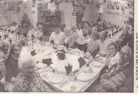 Lansbury Gardens OAP dinner