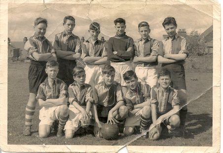St Chads 1st Year Football Team 1955