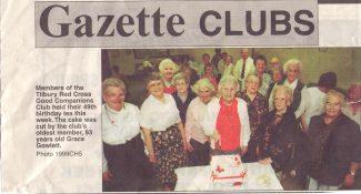 Good Companions Club 49th birthday
